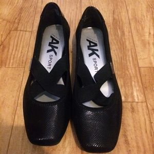 Anne Klein AK Sport ULISA Fabric Ballet Flats